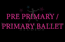 PRE PRIMARY/ PRIMARY BALLET