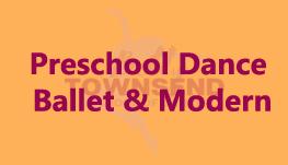 Preschool Dance - Ballet & Modern