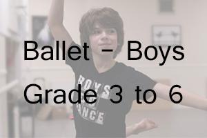 Boys Ballet - Grade 3 to 6 Uniform