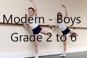 Boys Modern - Grade 2 to 6
