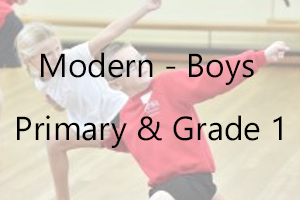 Boys Modern - Primary & Grade 1 Uniform
