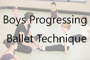 Boys Progressing Ballet Technique Uniform