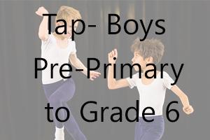 Boys Tap - Pre-Primary to Grade 6 Uniform