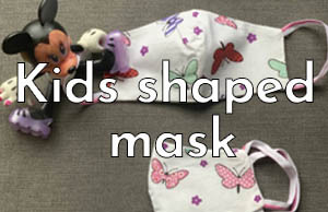 Kids Shaped Masks