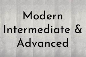 AIM Modern - Intermediate & Advanced