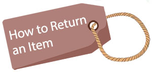 How to return/replace an item